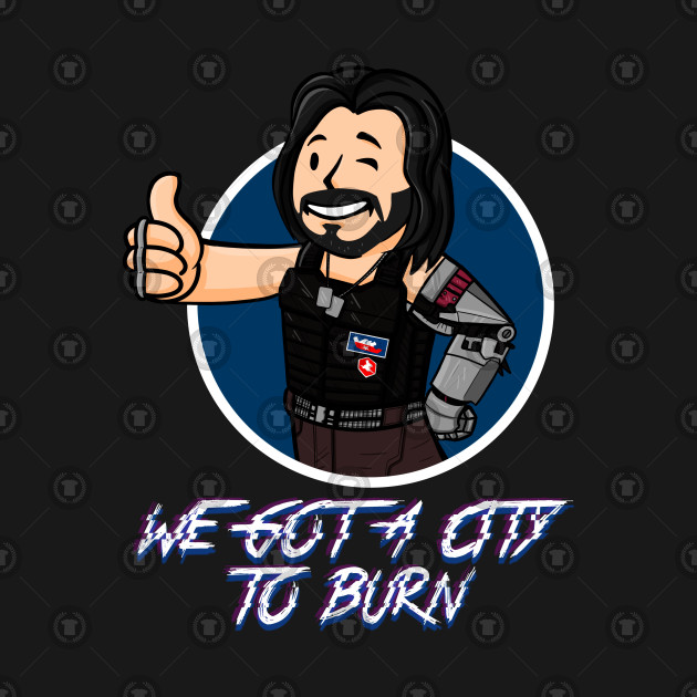WE GOT A CITY TO BURN