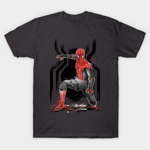 BLACK AND RED Spider Suit T-Shirt