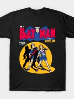 Bat Man with Robin T-Shirt