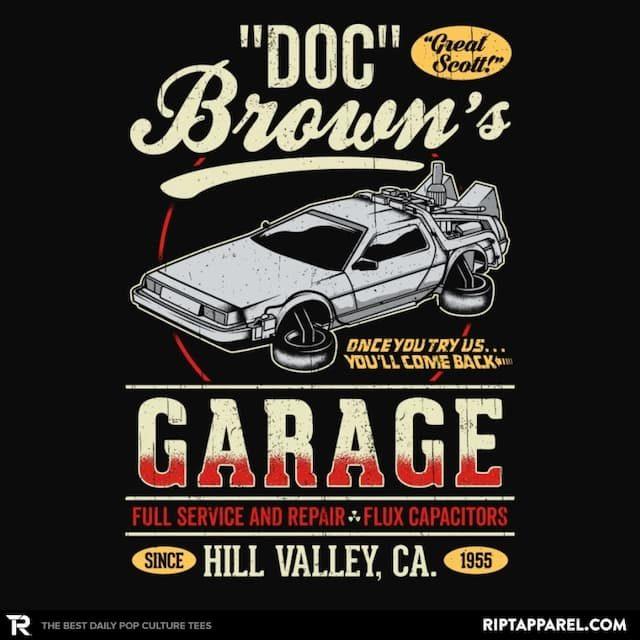 DOC BROWN'S GARAGE