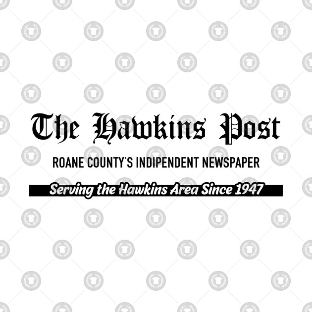 Hawkins Post, local newspaper