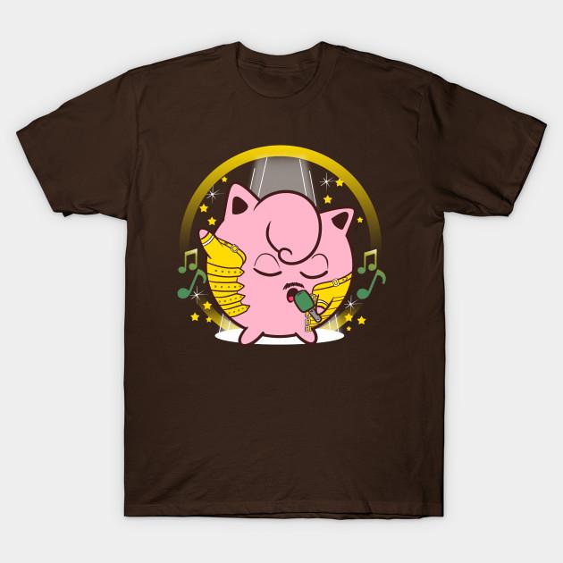 Jigglypuff/Freddie Mercury T-Shirt