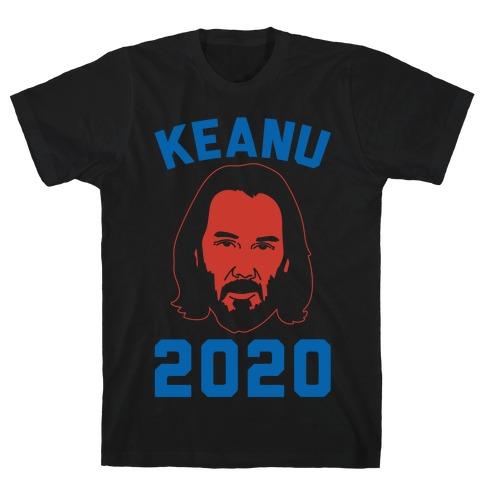 KEANU 2020 WHITE PRINT