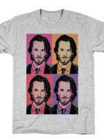 KEANU POP ART PORTRAIT T-Shirt