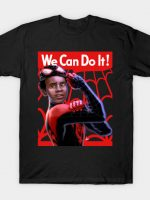 Miles Does Whatever A Spider Can T-Shirt