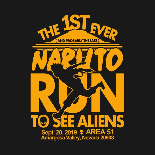 Naruto run for aliens