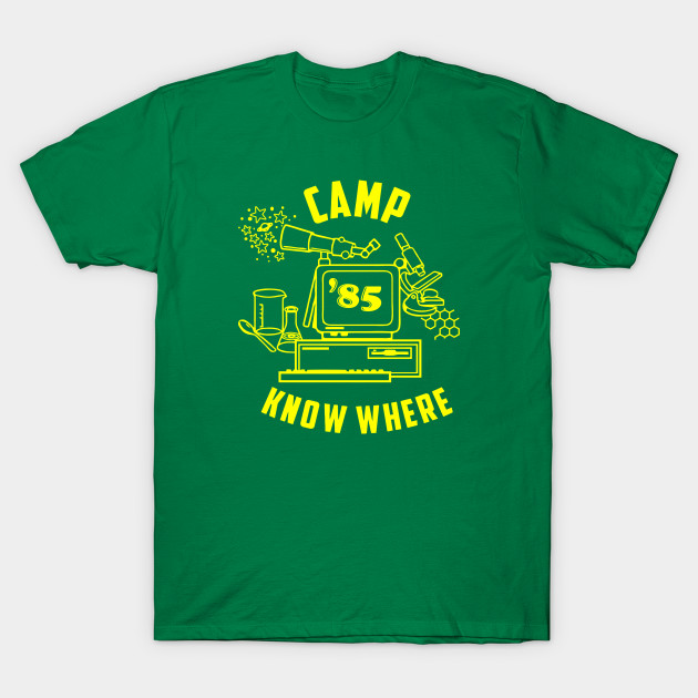 Stranger Things Camp Know Where T-Shirt