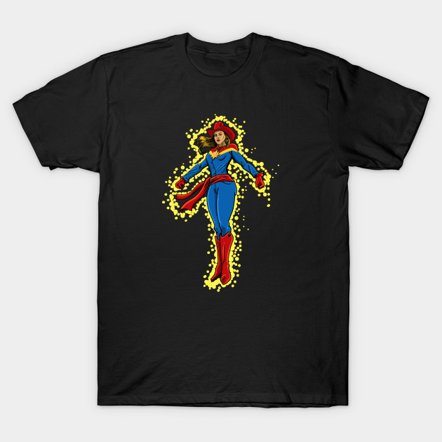 Old West Captain Marvel T-Shirt