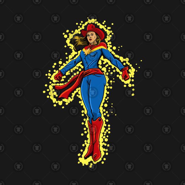 Old West Captain Marvel