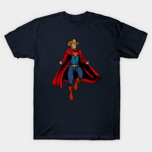 Old West Superman T-Shirt