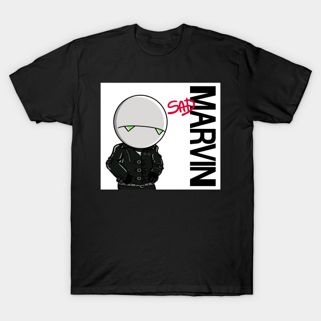Marvin the Paranoid Android T-Shirt