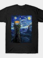 Sauron Van Gogh T-Shirt