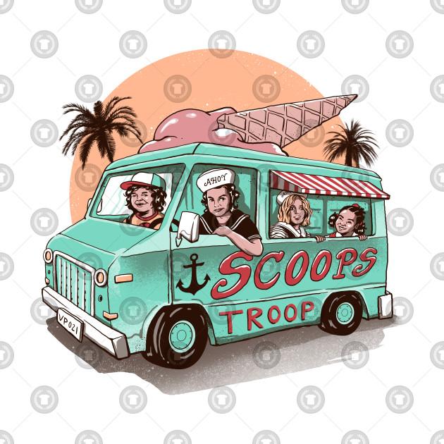 Scoops Troop Ice Cream Truck