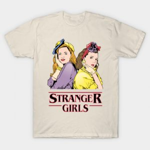 Stranger Things Max and Eleven T-Shirt