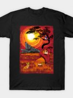 Sunset in the Pride Lands T-Shirt