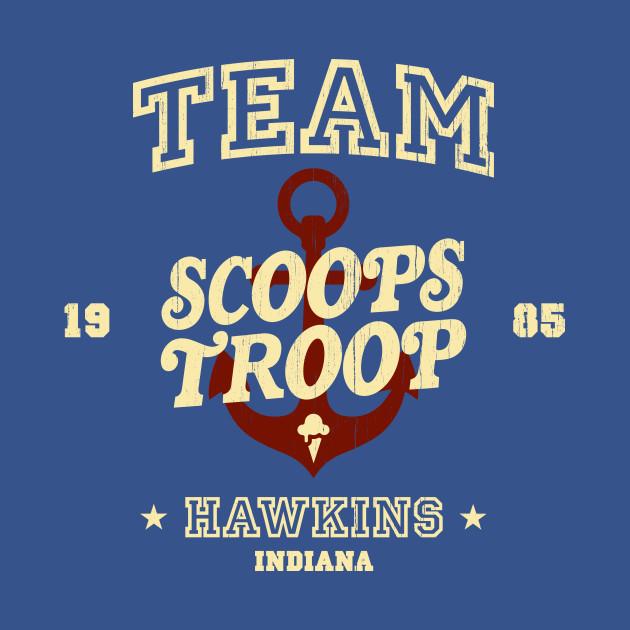 Team Scoops Troop