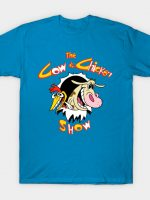 The cow and chicken show T-Shirt