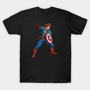 Wild West Captain America T-Shirt