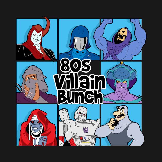 80s Villain Bunch