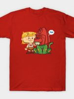 An Eternian Boy and His Cat T-Shirt