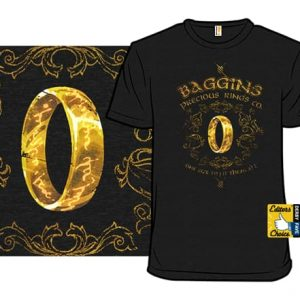 Baggins Precious Rings T-Shirt