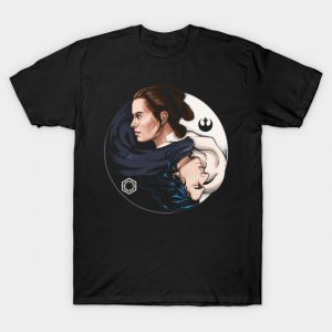 Kylo Ren and Rey T-Shirt