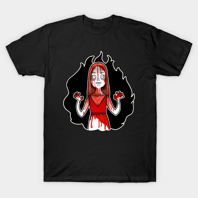 Carrie Illustration T-Shirt