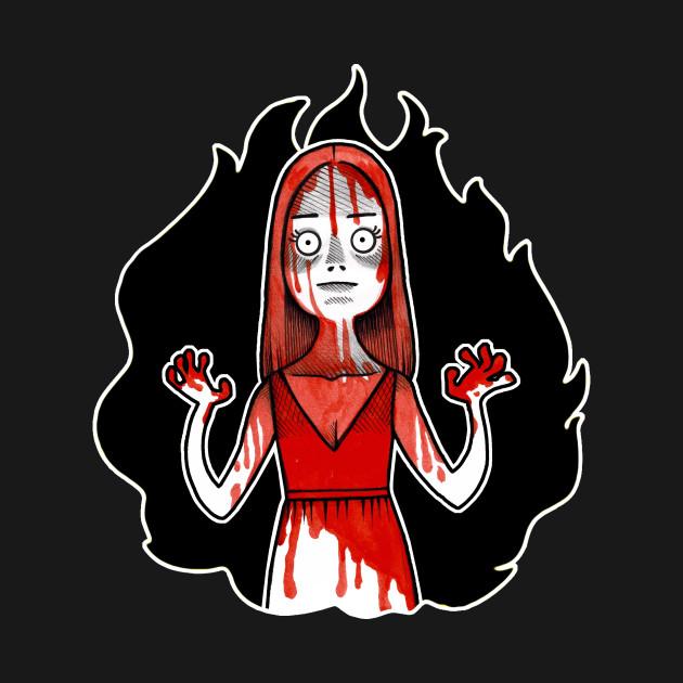 Carrie Illustration