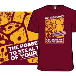 Citizens of CATAN Unite T-Shirt