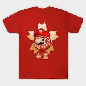 Super Mario Bros Daruma T-Shirt