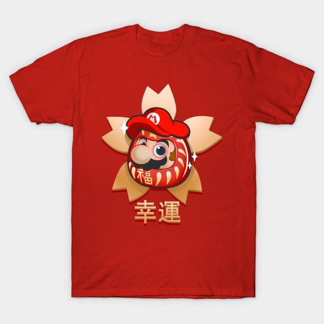 Super Mario Bros Daruma T-Shirt