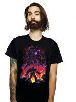 Gundam VS Mechagodzilla T-Shirt
