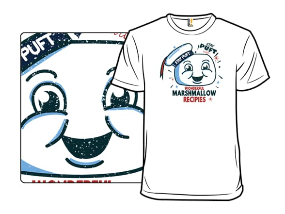 Stay Puft Marshmallow Man T-Shirt