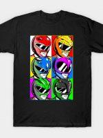 Go Go Pop Art Rangers! T-Shirt