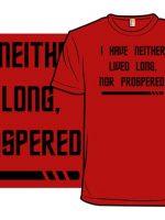 Red Shirt Prosperity T-Shirt
