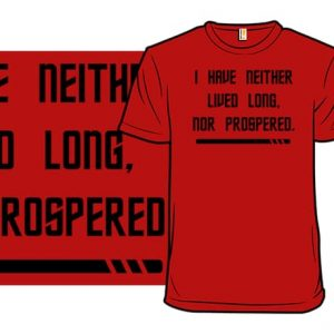 Red Shirt Prosperity T-Shirt