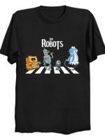 Robot Road (v2) T-Shirt