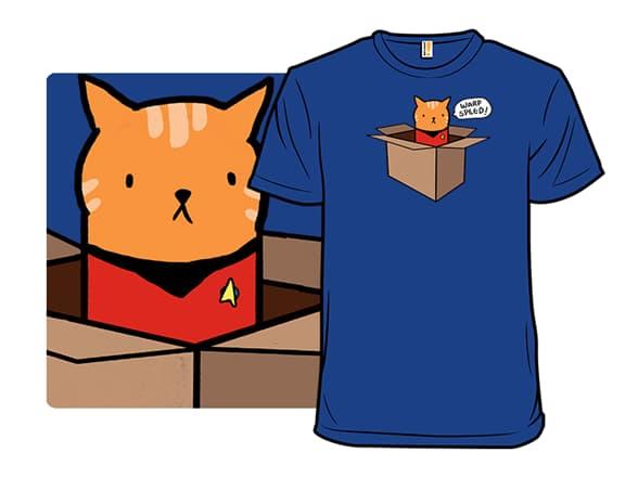 Starship Meowterprise T-Shirt
