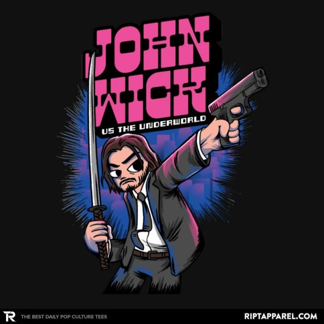 Wickrim John Wick T Shirt By Oliviero Olly Spinelli The Shirt List