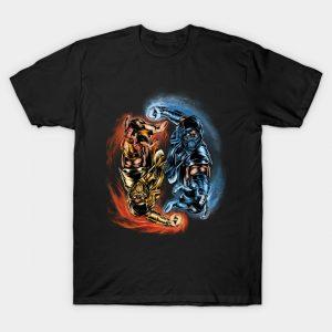 Mortal Kombat Yin Yang T-Shirt