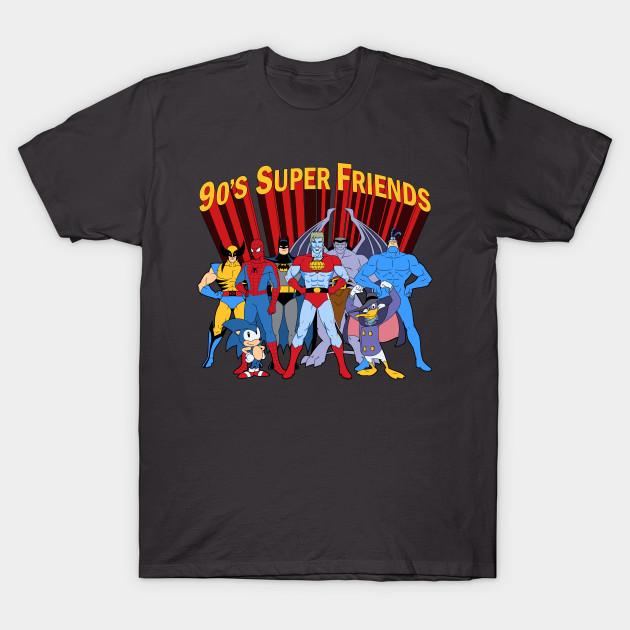90's Super Friends T-Shirt