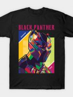 BLACK PANTHER WPAP FANART T-Shirt