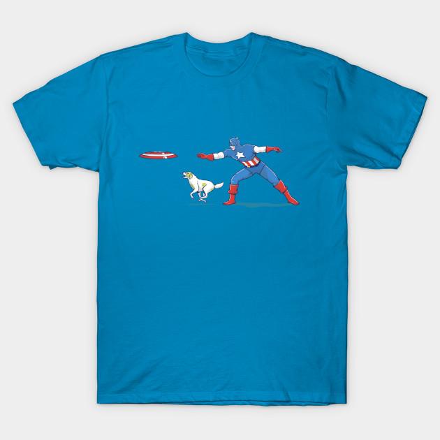 Captain America: Dog Lover