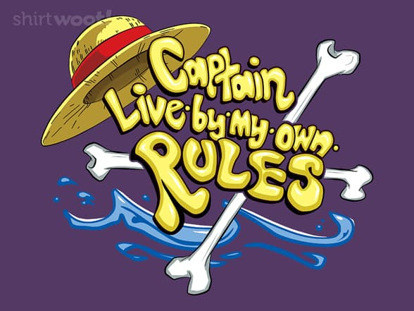 Captain Live by my own Rules