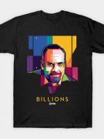 Chuck Rhoades in Pop Art T-Shirt