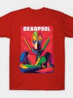 DEADPOOL WPAP Fanart T-Shirt