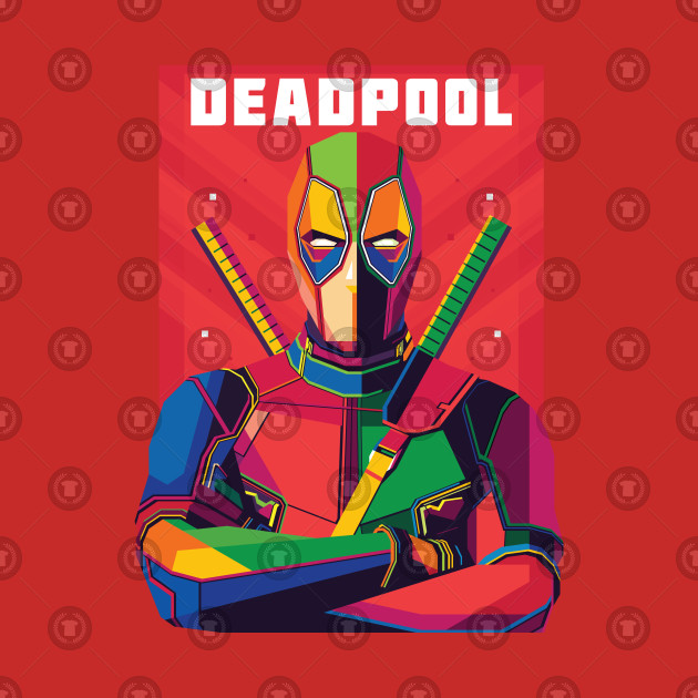 DEADPOOL WPAP Fanart