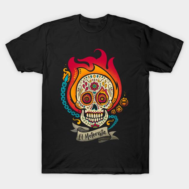 El Motorista T-Shirt