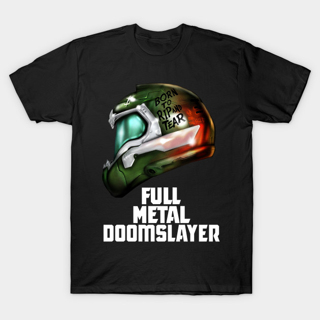 Full Metal Doomslayer T-Shirt