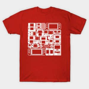 Handheld Mode (White Ver.) T-Shirt